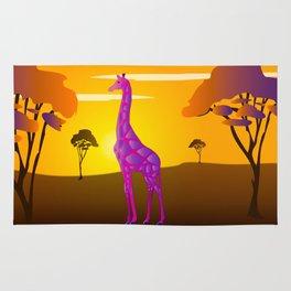 Paper Craft Giraffe Rug