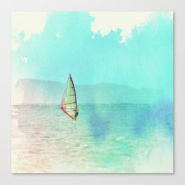 Kailua Windsurfing Canvas Print