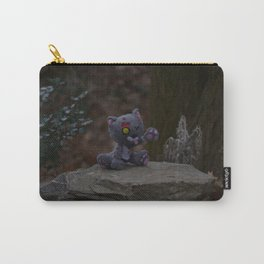 Mr. Grey Zombie Kitty Carry-All Pouch