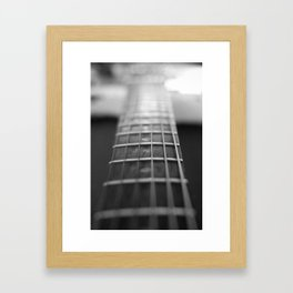 Classic Guitar 6 Framed Art Print