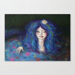 Women in Water Canvas Print
