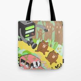 Run Run Run Tote Bag