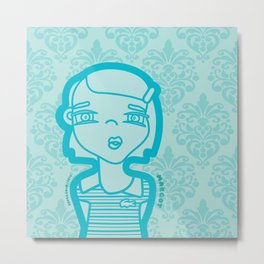 MARGOT Metal Print