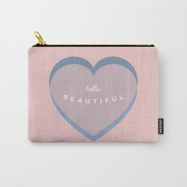 hello beautiful Carry-All Pouch