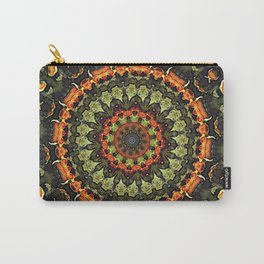 Citrus Infused Mandala Carry-All Pouch