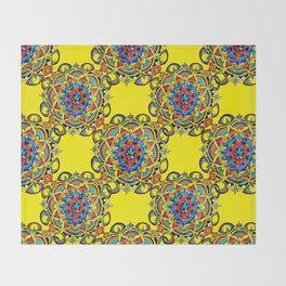 Mandala Bloom Throw Blanket