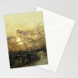 """Fairies in Kensington Gardens"" by Arthur Rackham Stationery Cards"