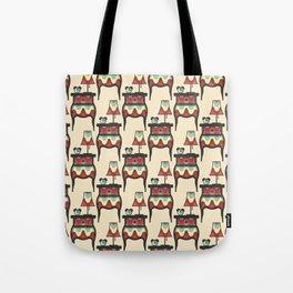 bedtime story pattern Tote Bag