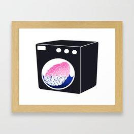 Brainwasher Framed Art Print