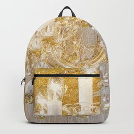 Shabby Glam Chandelier Backpack