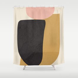 Abstract Shapes 34 Shower Curtain