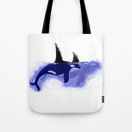 Orca Whales Tote Bag