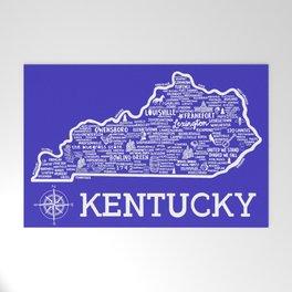 Kentucky Map Welcome Mat