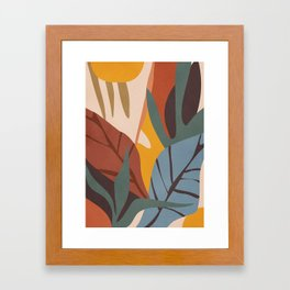 Abstract Art Jungle Framed Art Print