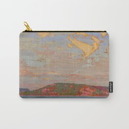 Tom Thomson View over a Lake, Autumn 1916 Canadian Landscape Artist Carry-All Pouch