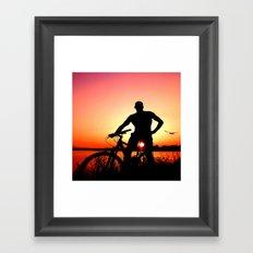 sunset magic Framed Art Print