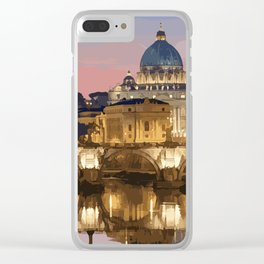 Rome Clear iPhone Case