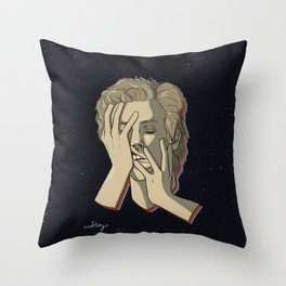 Starman Bowie Throw Pillow