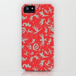 Moonchild TribalCayenne Red iPhone Case
