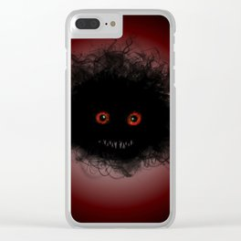 Lil monster Clear iPhone Case