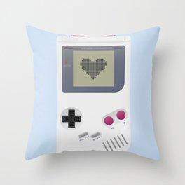 Game boy poster Throw Pillow