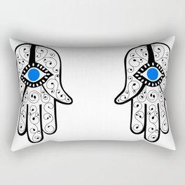 Hand of Fateema Rectangular Pillow