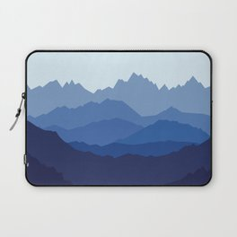 Blue Mountain range Laptop Sleeve
