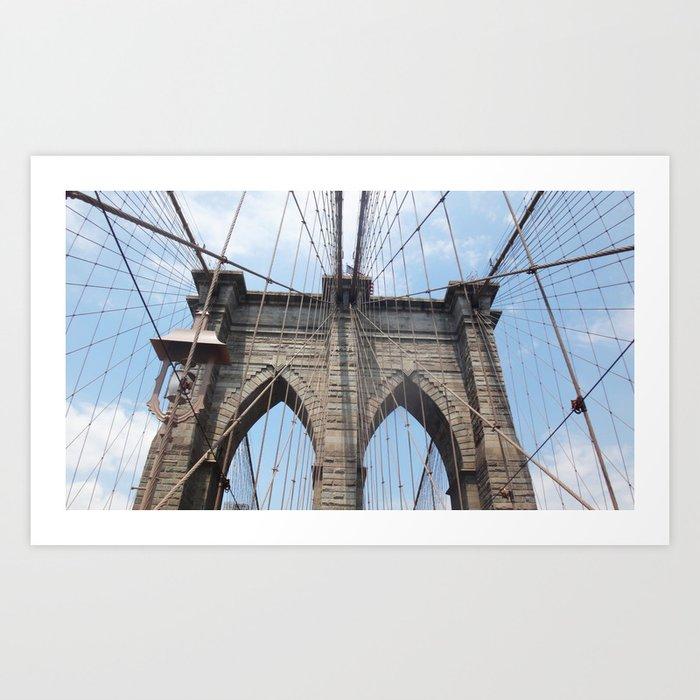 Brooklyn Bridge 2015 Art Print
