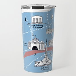 Mapping Melbourne - Original Travel Mug