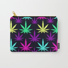 Colorful Marijuna Weed Carry-All Pouch