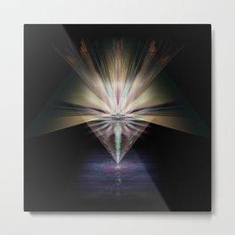 Sacred Rock [series: Glitch Re:Work] Metal Print