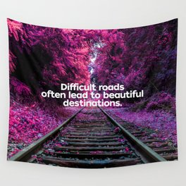 Infrared Forest Wall Tapestry