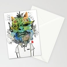Monster me Stationery Cards
