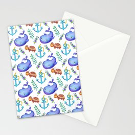 Magical Mermaid Life Stationery Cards