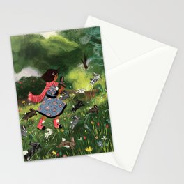 Rabbit Run Stationery Cards