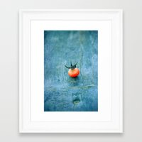 king Framed Art Prints featuring king by Claudia Drossert