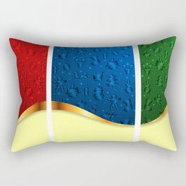 Christmas banners Rectangular Pillow