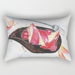 Chocolate Cake Rectangular Pillow