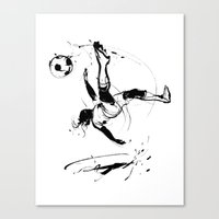 world cup Canvas Prints featuring World Cup 2014 by Kyle T Webster