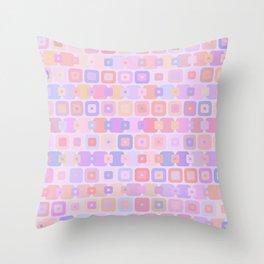 Funky Dots Throw Pillow