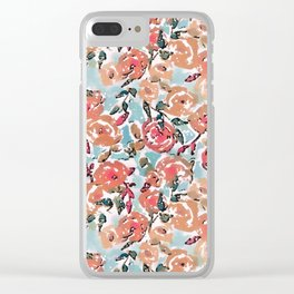 Spring Flor Adore Clear iPhone Case