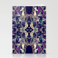kaleidoscope Stationery Cards featuring Kaleidoscope by queqzz
