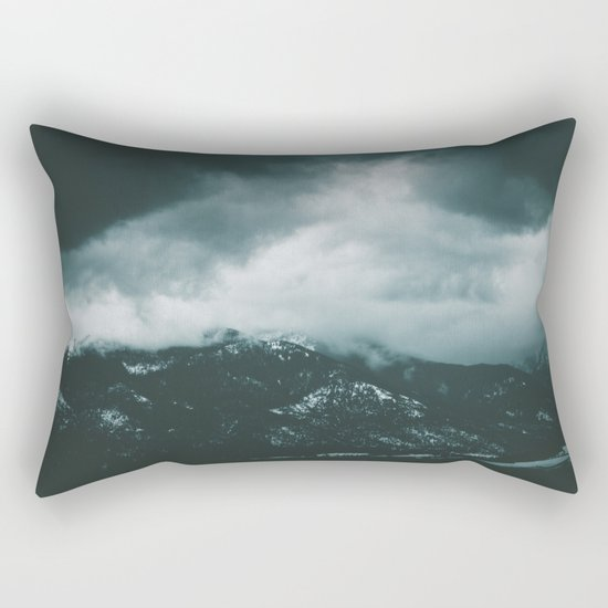 Blue Mountains II Rectangular Pillow