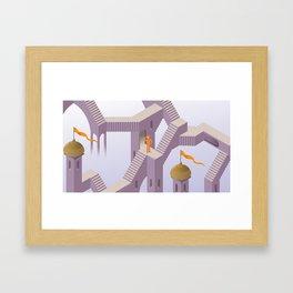 eyescher Framed Art Print