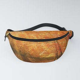 Autumn Photography - Sunlight Through The Leaves Fanny Pack