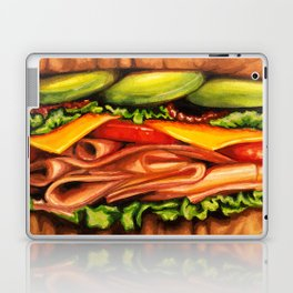 Sandwich- Turkey Bacon Avocado Laptop & iPad Skin