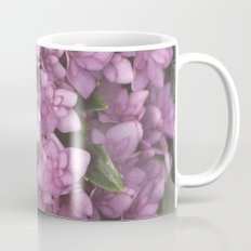 Double Bloom Hydrangea Mug