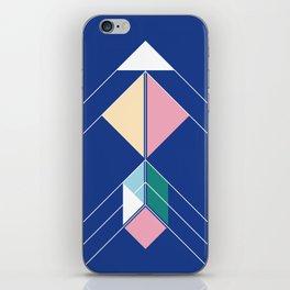 Tangram Arrow Two iPhone Skin