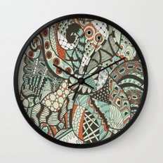 Peanuts i wanted to be octopus Wall Clock