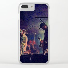 Jesse Lacey- Brand New Concert 2 Clear iPhone Case